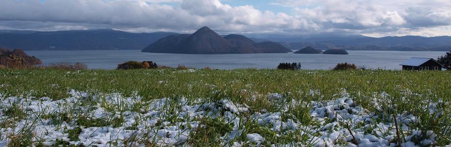 月浦からの洞爺湖(冬)
